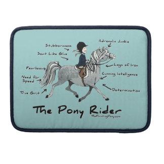 The Pony Rider MacBook Pro Sleeve
