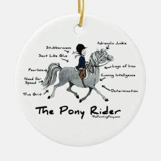 The Pony Rider Christmas Tree Ornaments