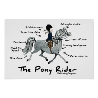 The Pony Rider Poster