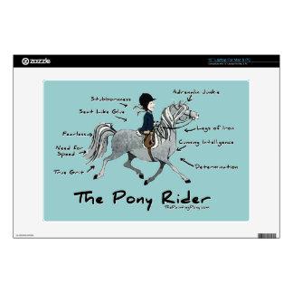 The Pony Rider Laptop Skin
