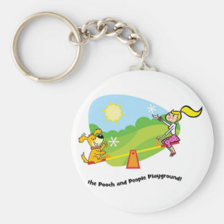 The Pooch and People Playground, Keychain