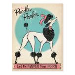 The Poodle Parlor Postcard