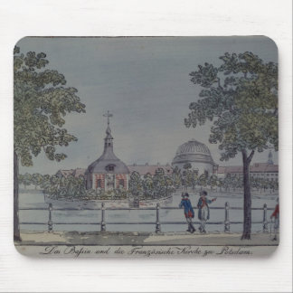 The Pool and French Church in Potsdam, c.1796 Mouse Pad