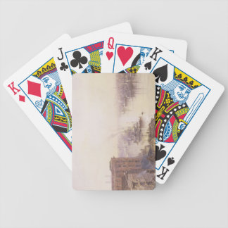 The Pool from the Adelaide Hotel, London Bridge Bicycle Playing Cards
