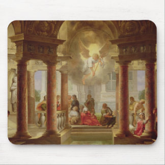 The Pool of Bethesda, 1645 Mouse Pad