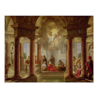 The Pool of Bethesda, 1645 Poster