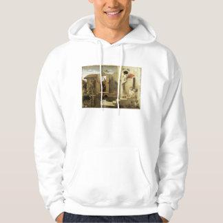 The Pool of Bethesda, 1876-77, Robert Bateman Hooded Sweatshirt