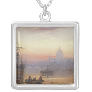 The Pool of London at Sundown, 1876 Necklace