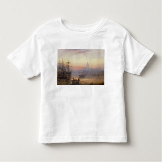 The Pool of London at Sundown, 1876 Toddler T-shirt
