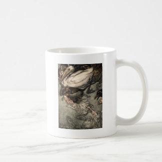 The Pool of Tears Classic White Coffee Mug