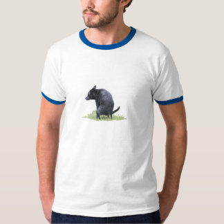 The Pooping Dog T-shirts