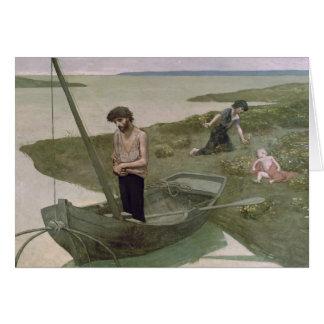 The Poor Fisherman, 1881 Card