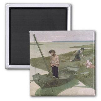 The Poor Fisherman, 1881 Magnet