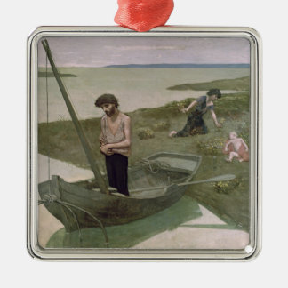 The Poor Fisherman, 1881 Metal Ornament