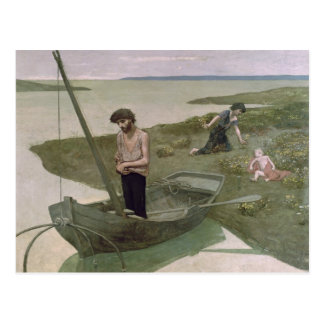 The Poor Fisherman, 1881 Postcard