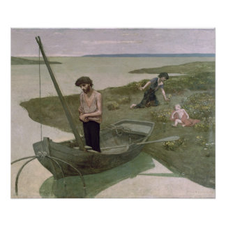 The Poor Fisherman, 1881 Poster