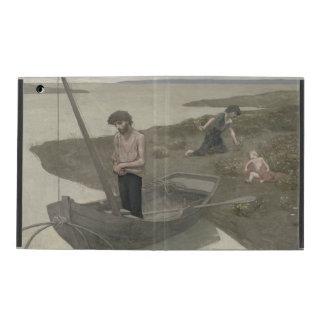 The Poor Fisherman by Puvis de Chavannes iPad Cover