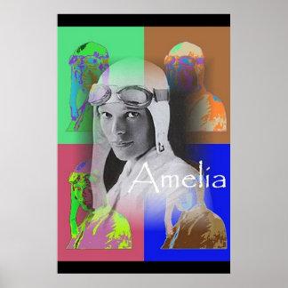 The Pop-Art Amelia Print