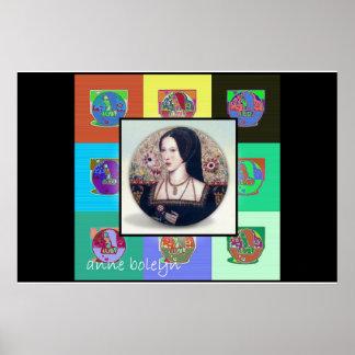 The Pop Art Anne Boleyn Poster