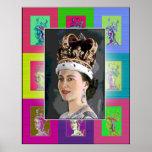 The Pop Art Coronation Poster