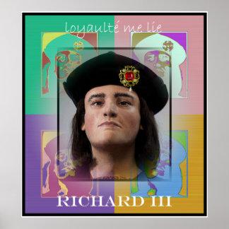 The Pop Art Richard III (3) Poster