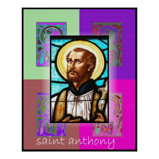 The Pop Art Saint Anthony Poster