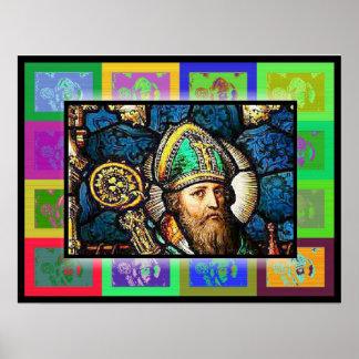 The Pop Art Saint Patrick Poster
