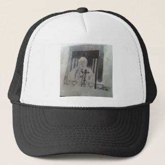 The Pope by Celebrity Ishah Laurah Guillen Wright Trucker Hat