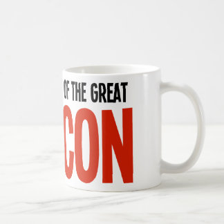 The Pope - Head of the Great VatiCON Coffee Mugs