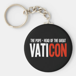 The Pope - Head of the Great VatiCON Keychain