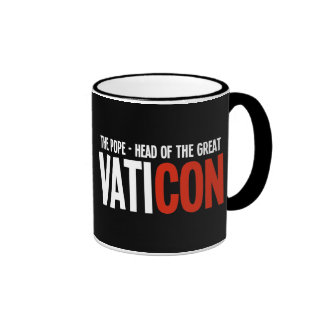 The Pope - Head of the Great VatiCON Mug