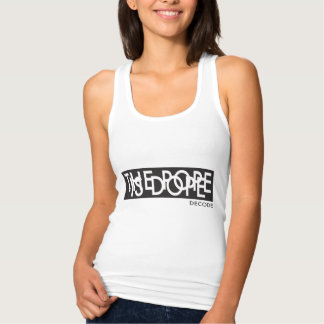 The Pope Is Dope (we like the Pope Francis) Jersey Racerback Tank Top
