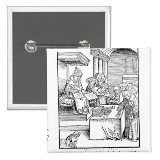 The Pope selling Indulgences Pinback Button