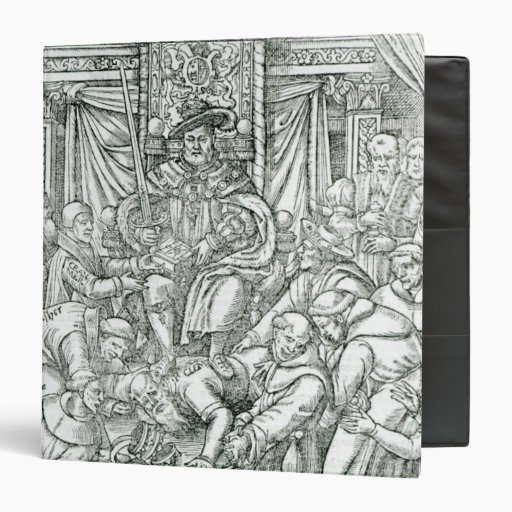 The Pope suppressed by King Henry VIII, 1534 Binders