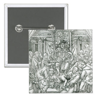 The Pope suppressed by King Henry VIII, 1534 Button