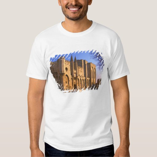 The Pope's Palace in Avignon with people T Shirts