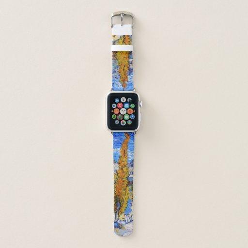 The Poplars at Saint-Rémy, Van Gogh Apple Watch Band