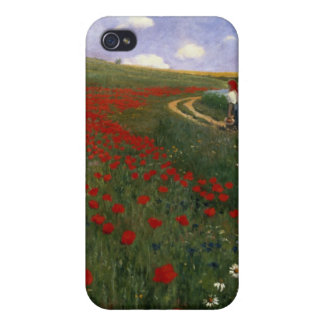 The Poppy Field Cases For iPhone 4