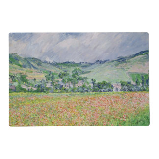The Poppy Field near Giverny, 1885 Laminated Placemat