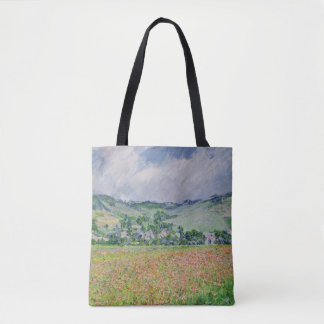 The Poppy Field near Giverny, 1885 Tote Bag