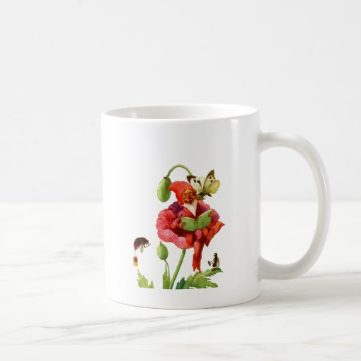 The Poppy Gnome Coffee Mugs