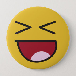 The popular LOL emoji Pinback Button