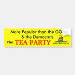 The Popular Party Car Bumper Sticker