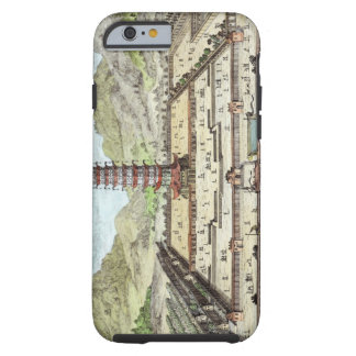 The Porcelain Tower of Nanking, plate 12 from 'Ent Tough iPhone 6 Case