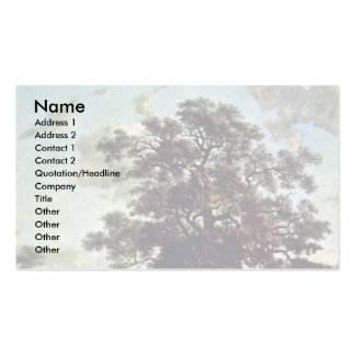 The Poringland Oak By Birth Name (Best Quality) Double-Sided Standard Business Cards (Pack Of 100)