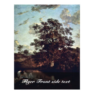 """The Poringland Oak By Birth Name (Best Quality) 8.5"""" X 11"""" Flyer"""