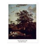 The Poringland Oak By John Crome Postcard