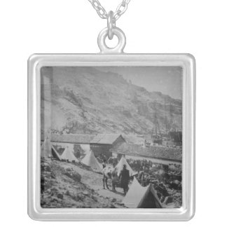 The Port at Balaklava Silver Plated Necklace