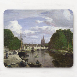 The Port at Quimper, 1857 Mouse Pad