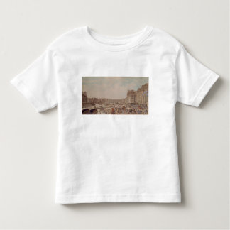 The Port au Ble and the Pont Notre-Dame, 1782 Toddler T-shirt